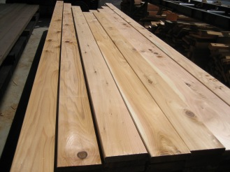 Low grade S4S decking